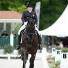 France, Compiègne : <br />  Shelly Francis (United States Of America) riding Danilo<br />  during the Grand Prix Special CDI3*, Grand Prix Brézillon,  Dressage competition of the FEI CDIO5*, Compiègne on May 20th , 2016, in Compiègne, France - Photo Christophe Bricot