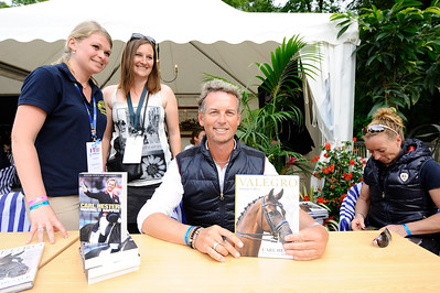 France, Compiègne : Carl Hester during the Grand Prix Ville de Compiègne, FEI Nations Cup Dressage competition of the CDI5* of Compiègne on May 21th , 2016, in Compiègne, France - Photo Christophe Bricot