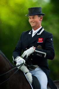France, Compiègne :  Carl HESTER (GBR) riding on Nip Tuck during the Grand Prix Special CDI3*, Grand Prix Brézillon,  Dressage competition of the FEI CDIO5*, Compiègne on May 20th , 2016, in Compiègne, France - Photo Christophe Bricot