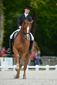 France, Compiègne :  Boaventura Freire (portugal) riding Sai Baba Plus  during the Grand Prix Barriquand, CDI3*, Dressage competition of the FEI CDIO5* of Compiègne on May 19th , 2016, in Compiègne, France - Photo Christophe Bricot