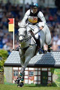 Germany, Aachen : Shane ROSE riding CP Qualified during the CHIO of Aachen, World Equestrian Festival,  in July 16th , 2016, in Aachen, Germany - Photo Christophe Bricot