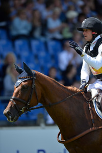 Germany, Aachen : Michael JUNG riding fischerTakinou during the CHIO of Aachen, World Equestrian Festival,  in July 16th , 2016, in Aachen, Germany - Photo Christophe Bricot