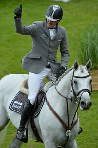 Germany, Aachen :  Philipp WEISHAUPT riding LB Convall during the Rolex Grand Prix ,  CHIO of Aachen, World Equestrian Festival,  in July 17th , 2016, in Aachen, Germany - Photo Christophe Bricot