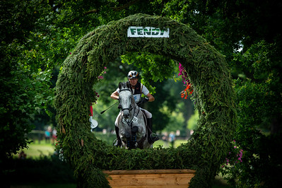 Germany, Aachen : Peter THOMSEN (GER) riding CASINO 80 during the CHIO of Aachen, on July 20th , 2019, in Aachen, Germany - Photo Christophe Bricot