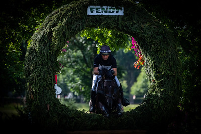 Germany, Aachen : Daniel JOCELYN (NZL) riding BLACKTHORN CRUISE during the CHIO of Aachen, on July 20th , 2019, in Aachen, Germany - Photo Christophe Bricot