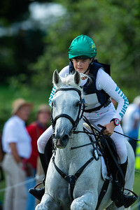 Germany, Aachen : Isabel ENGLISH (AUS) riding FELDALE MOUSE  during the CHIO of Aachen, on July 20th , 2019, in Aachen, Germany - Photo Christophe Bricot
