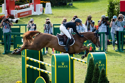 qGermany, Aachen : Simone Blum riding DSP Alice  during the Rolex Grand Prix, CHIO of Aachen, on July 21th , 2019, in Aachen, Germany - Photo Christophe Bricot