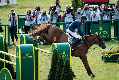 Germany, Aachen : Daniel DEUSSER (GER) riding SCUDERIA 1918 TOBAGO Z during the Rolex Grand Prix, CHIO of Aachen, on July 21th , 2019, in Aachen, Germany - Photo Christophe Bricot