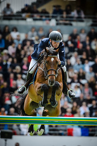 France, La Baule : Peder Fredricson riding H&M Christian K during the FEI Nations Cup, Longines International Jumping of La Baule , on May 12th , 2017, in La Baule, France - Photo Christophe Bricot
