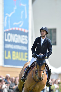 France, La Baule : Maikel Van Der Vleuten riding Vdl Groep Arera C during the Longines International Jumping of La Baule , on May {day th , {year4}, in La Baule, France - Photo Christophe Bricot