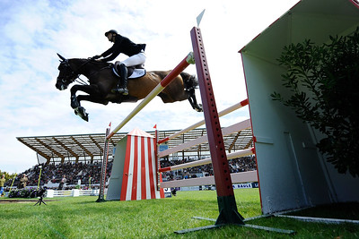 France, La Baule : Pedro Junqueira Muylaert riding Prince Royal Z Mfs winner of the Grand Prix during the Longines International Jumping of La Baule , on May {day th , {year4}, in La Baule, France - Photo Christophe Bricot