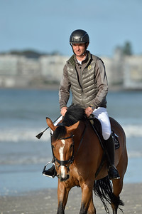France, La Baule :  Steve Guerdat riding Bianca during the FEI Longines International Jumping of La Baule , on May {day th , {year4}, in La Baule, France - Photo Christophe Bricot