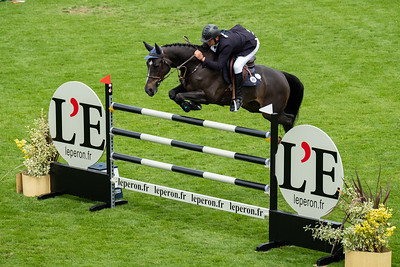 France, La Baule : Olivier Guillon riding Vitot Du Chateau the Longines FEI Jumping Nations Cup™ de France-La Baule, on May 16th , 2019, in La Baule, France - Photo Christophe Bricot