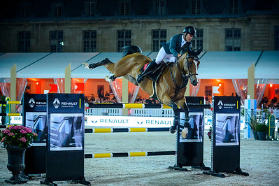 France, Versailles :  Sergio ALVAREZ MOYA riding ARRAYAN during the Versailles Castle Show Jumping at the stables of the kings, on May 6th , 2017, in Versailles, France - Photo Christophe Bricot
