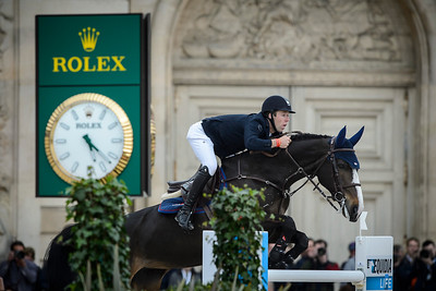 France, Versailles : Maikel VAN DER VLEUTEN riding VDL GROEP IDI UTOPIA during the Versailles Castle Show Jumping at the stables of the kings, on May 7th , 2017, in Versailles, France - Photo Christophe Bricot