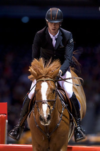 France, Bordeaux : Harrie SMOLDERS (NED) riding EMERALD N during the Prix Hotel Burdigala, Bordeaux Métropole competition of the International Show Jumping of Bordeaux, on February 3, 2018, in Bordeaux, France - Photo Christophe Bricot