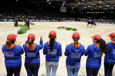 France, Bordeaux : Prize giving during the Land Rover Grand Prix - International  Jumping of Bordeaux, on February 4, 2018, in Bordeaux, France - Photo Christophe Bricot