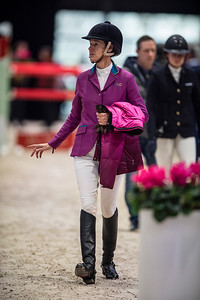 France, Villepinte : Luciana Diniz during the Longines Masters of Paris 2017, on November 30 , 2017, in Villepinte, France - Photo Christophe Bricot