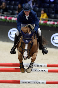 France, Villepinte : Daniel DEUSSER (GER) riding TOBAGO Z during the Longines Masters of Paris 2017, on November 30 , 2017, in Villepinte, France - Photo Christophe Bricot