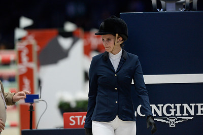 France, Villepinte : Athina Onassis during the Longines Masters of Paris 2017, on December 1 , 2017, in Villepinte, France - Photo Christophe Bricot