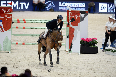 France, Villepinte : Nayel NASSAR (EGY) riding Lordan during the Longines Masters of Paris 2017, on December 1 , 2017, in Villepinte, France - Photo Christophe Bricot