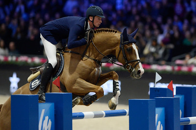 France, Villepinte : Daniel DEUSSER (GER) riding Tobago Z during the Longines Masters of Paris 2017, on December 2 , 2017, in Villepinte, France - Photo Christophe Bricot