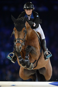 France, Villepinte : Penelope Leprevost riding Vagabond de la Pomme  during the Longines Masters Paris, on December 3rd , 2016, in Villepinte, France - Photo Christophe Bricot