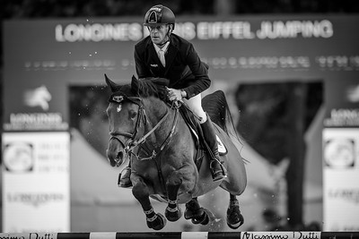 France, Paris : Marcus Ehning riding Comme Il Faut during the Longines Global Champions Tour of Longines Paris Eiffel Jumping, on June 30th , 2017, in Paris, France - Photo Christophe Bricot