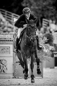 France, Paris : Bertram Allen riding Izzy By Picobello during the Longines Global Champions Tour of Longines Paris Eiffel Jumping, on July 1th , 2017, in Paris, France - Photo Christophe Bricot
