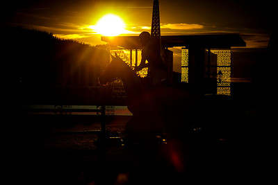 France, Paris : Julien Epaillard riding Usual Suspect D'auge during the Longines Global Champions Tour of Longines Paris Eiffel Jumping, on July 1th , 2017, in Paris, France - Photo Christophe Bricot