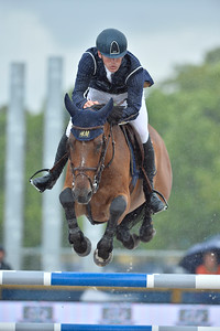 France, Paris : Peder Fredricson riding H&M All In during the Longines Global Champions Tour of Longines Paris Eiffel Jumping, on June 30th , 2017, in Paris, France - Photo Christophe Bricot