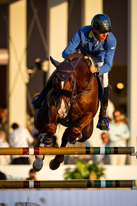 France, Paris : Christian Ahlmann riding Take A Chance on me Z GER during the Longines Longines Global Champions Tour of Paris, on July 6th , 2019, in Paris, France - Photo Christophe Bricot