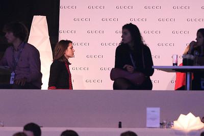 Charlotte Casiraghi lors de la Gucci Gold Cup du Longines Paris Masters,