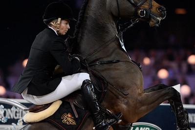 Edwina Tops-Alexander sur Lintea Tequila lors de la Gucci Gold Cup du Longines Paris Masters,
