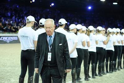 Simon Delestre sur Hermes Ryan  during the Longines Grand Prix 2015, Longines Paris Masters