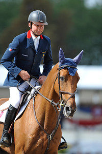 OLIVIER GUILLON SUR LORD DE THEIZE JUMPING WINDSOR CASTLE FEI EUROPEAN JUMPING AND DRESSAGE CHAMPIONSHIPS 25-30 AOUT 2009 - WINDSOR ©Christophe Bricot
