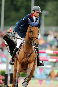 OLIVIER GUILLON LORD DE THEIZE JUMPING - FINALE INDIVIDUELLE WINDSOR CASTLE FEI EUROPEAN JUMPING AND DRESSAGE CHAMPIONSHIPS 25-30 AOUT 2009 - WINDSOR ©Christophe Bricot