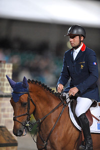 OLIVIER GUILLON (FRA) SUR LORD DE THEIZE JUMPING WINDSOR CASTLE FEI EUROPEAN JUMPING AND DRESSAGE CHAMPIONSHIPS 25-30 AOUT 2009 - WINDSOR ©Christophe Bricot