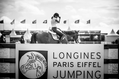 France, Paris : Athina Onassis during the Longines Paris Eiffel Jumping, Global Champions Tour in June 30th , 2016, in Paris, France - Photo Christophe Bricot