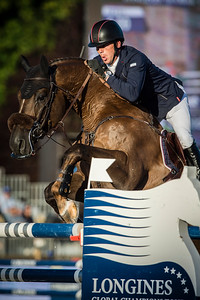 France, Paris : Harrie Smolders riding Don Vhp Z during the Longines Paris Eiffel Jumping, Global Champions Tour in July 2th , 2016, in Paris, France - Photo Christophe Bricot