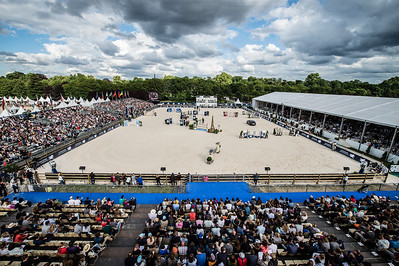 France, Paris : Arena during the Longines Paris Eiffel Jumping, Global Champions Tour in July 2th , 2016, in Paris, France - Photo Christophe Bricot