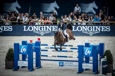 France, Paris : Daniel Bluman riding Apardi during the Longines Paris Eiffel Jumping, Global Champions Tour in July 2th , 2016, in Paris, France - Photo Christophe Bricot