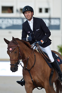 France, Paris : Simon Delestre riding Hermes Ryan during the Longines Paris Eiffel Jumping, Global Champions Tour in July 2th , 2016, in Paris, France - Photo Christophe Bricot