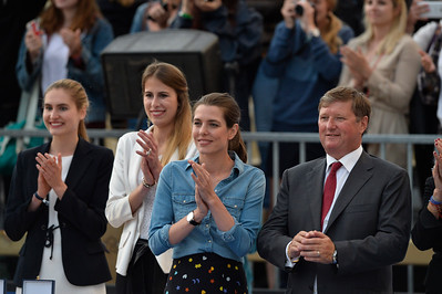 France, Paris : Charlotte Casiraghi during the Longines Paris Eiffel Jumping, Global Champions Tour in July 2th , 2016, in Paris, France - Photo Christophe Bricot