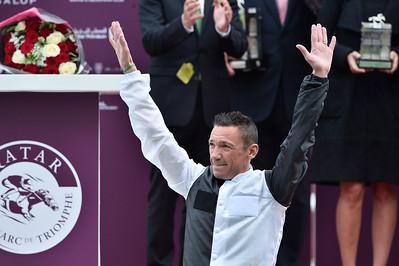 94th Qatar Prix de l'Arc de Triomphe horse race