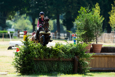 France, Marnes-la-Coquette : LOISEAU Clara riding ULTRAMAILLE during the CCI4*-S-FFE competition of the Jardy Eventing Show 2020, July 11th, at Haras de Jardy,  Photo Christophe Bricot.