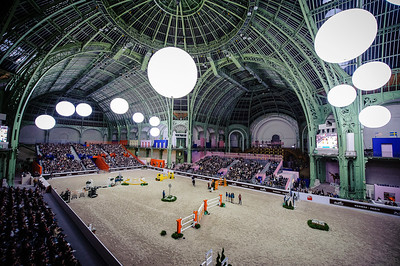 France, Paris : Ambiance during the Saut-Hermès Jumping competition in the Grand-Palais, on March 18th , 2017, in Paris, France - Photo Christophe Bricot