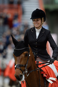 France, Paris : Edwina TOPS-ALEXANDER riding California during the Saut-Hermès Jumping competition in the Grand-Palais, on March 19th , 2017, in Paris, France - Photo Christophe Bricot