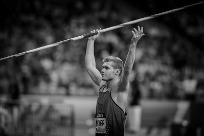 France, Paris : Kevin MAYER (FRA), Javelin Men, during the IAAF Diamond League - Meeting of Paris   in August 27th , 2016, in Paris, France - Photo Christophe Bricot/DPPI Media