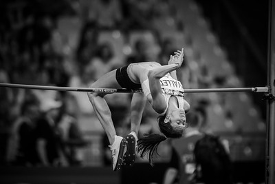 France, Paris : Marine VALLET (FRA), High Jump Women,  during the IAAF Diamond League - Meeting of Paris   in August 27th , 2016, in Paris, France - Photo Christophe Bricot/DPPI Media